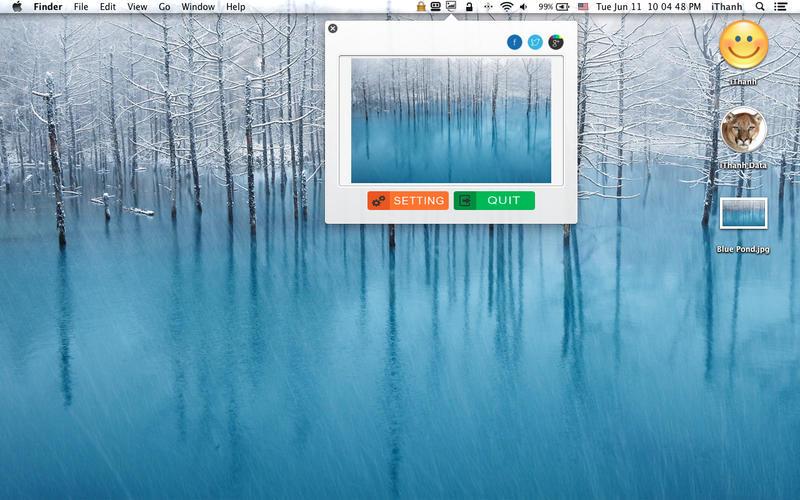 Wallpaper Changer on the Mac App Store 800x500