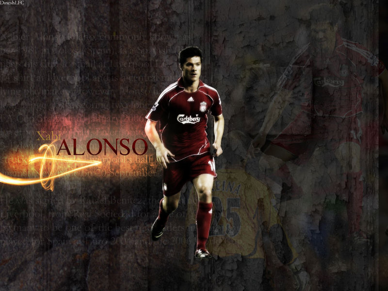 Xabi Alonso Wallpaper 1 Football Wallpapers and Videos 800x600