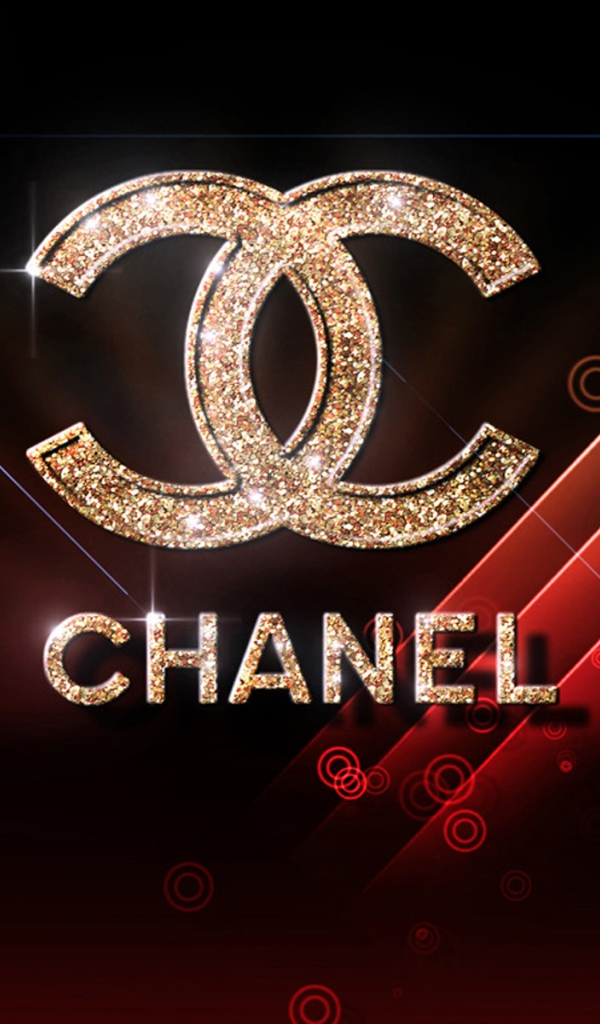 Desktop wallpapers Brands Chanel logo 600x1024 600x1024