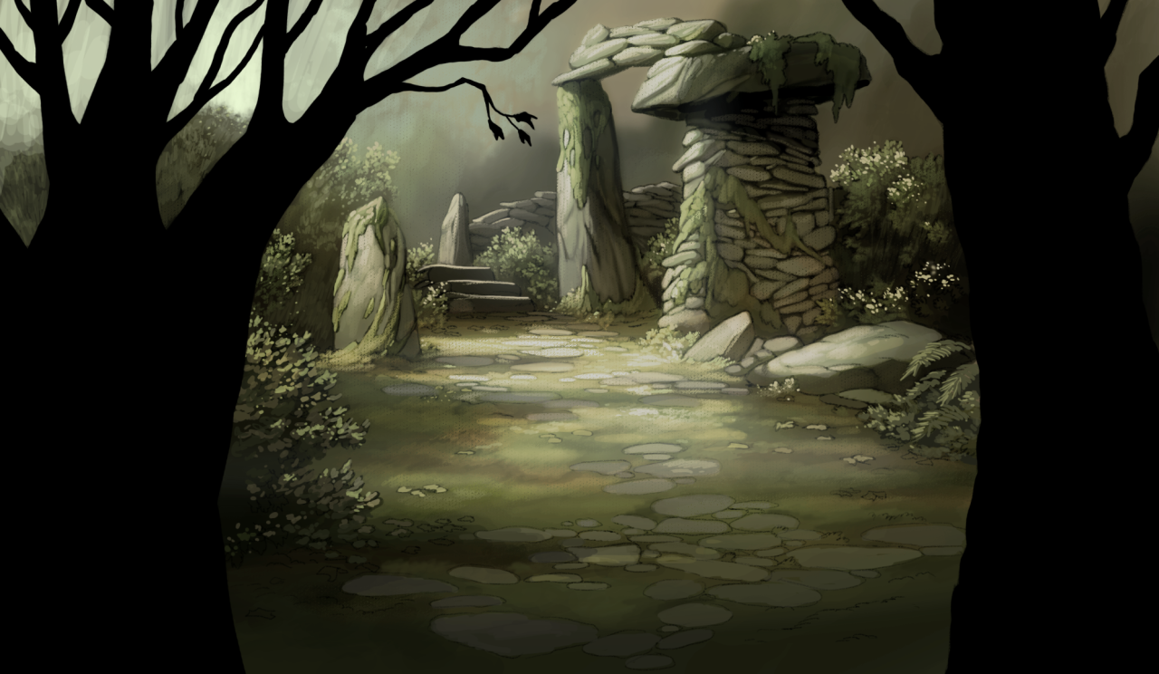 Free Download Background From Series Drawn And Painted Over The