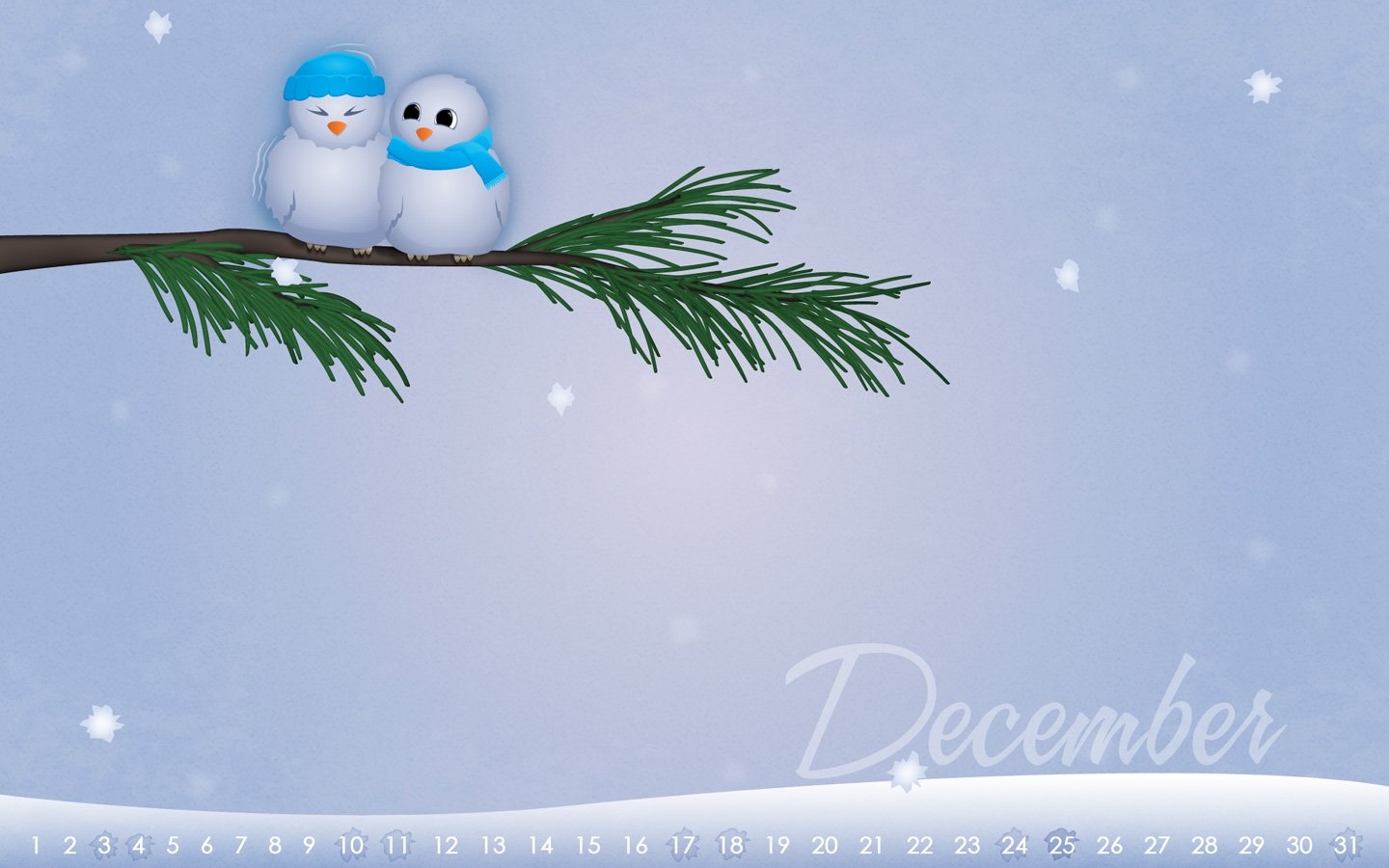 december winter wallpaper Large Images 1440x900