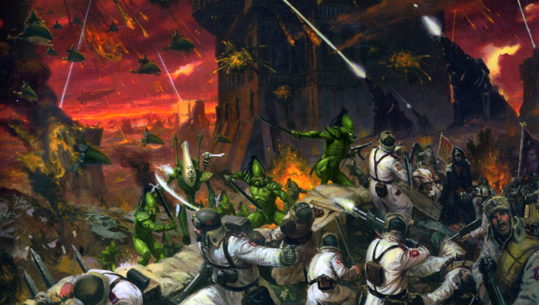 47+] Warhammer 40k Eldar Wallpaper on WallpaperSafari