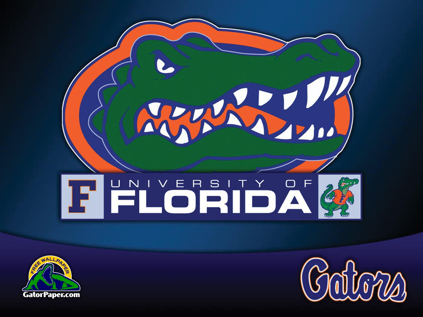 FREE GATOR WALLPAPER FREE FLORIDA GATOR WALLPAPER 1400x1050