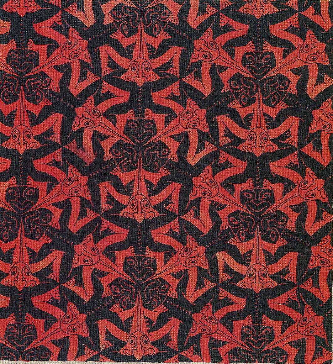 Eschers symmetry prints from MC Escher Official website 1062x1161