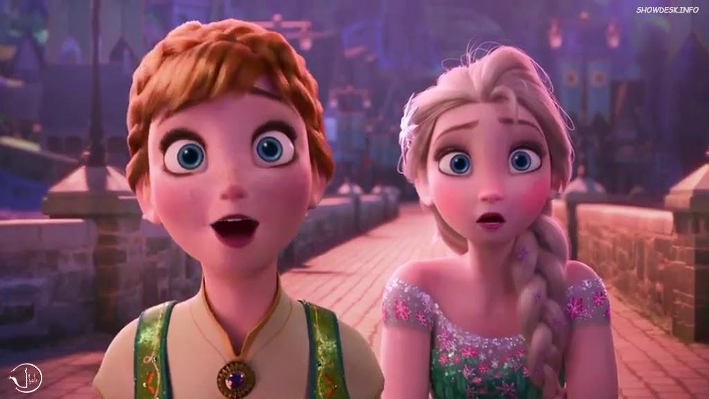 Frozen Fever Movie Wallpaper Kristoff Elsa Anna Olaf ShowDesk 1024x576