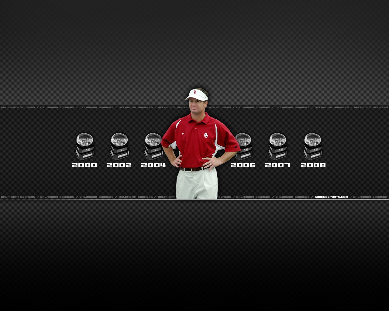 1280x1024 Oklahoma Sooners   Bob Stoops Wallpaper Download 1280x1024