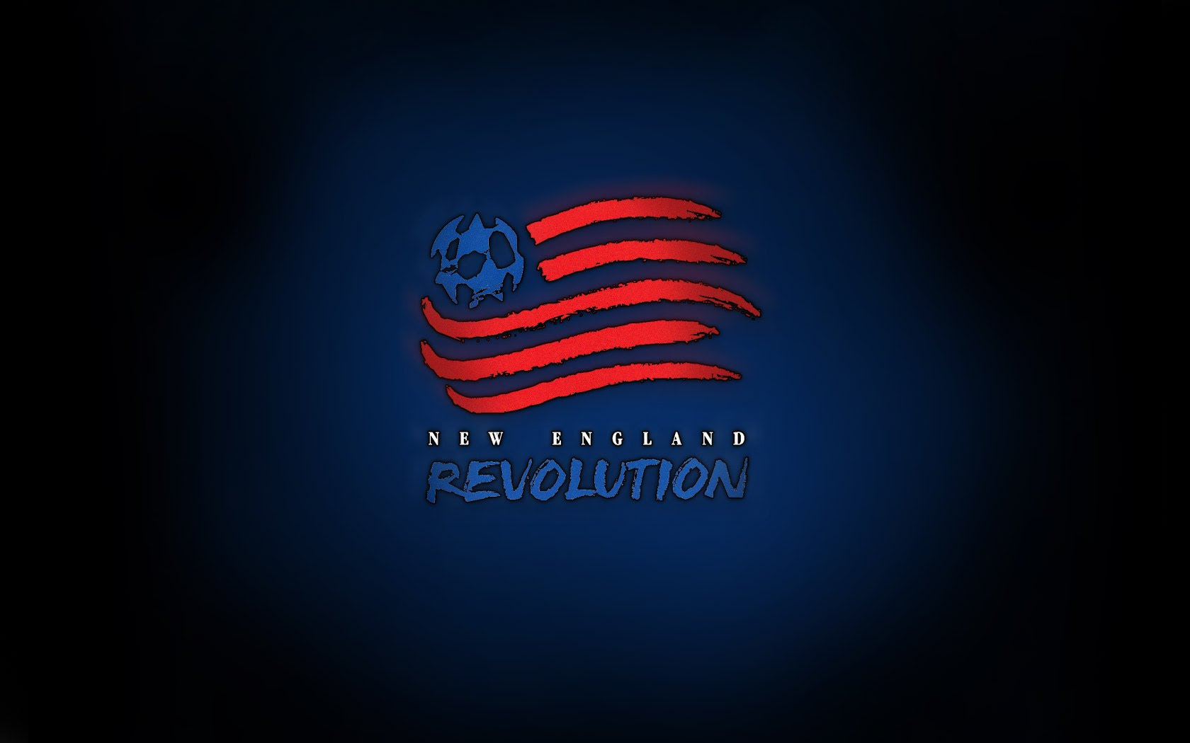 MLS New England Revolution Team Logo wallpaper 2018 in Soccer 1680x1050
