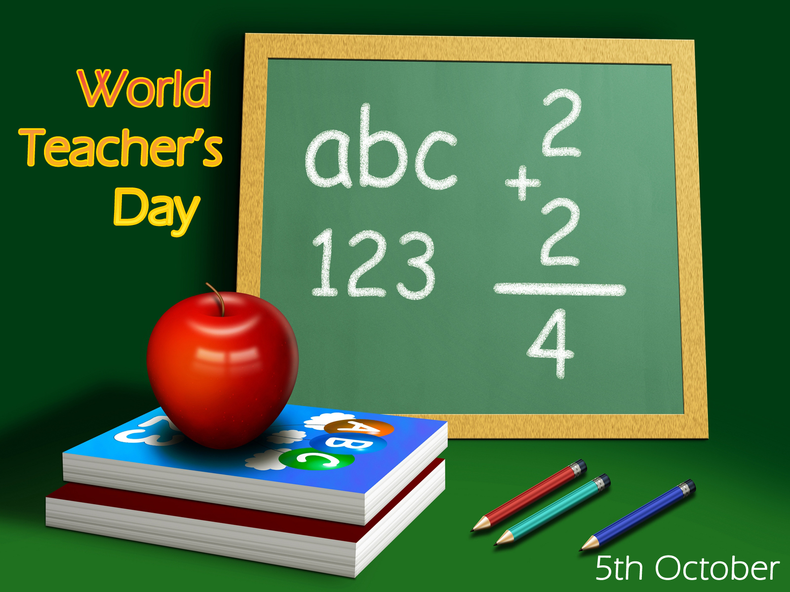 Download World Teachers Day computer desktop wallpaper [1600x1200 1600x1200