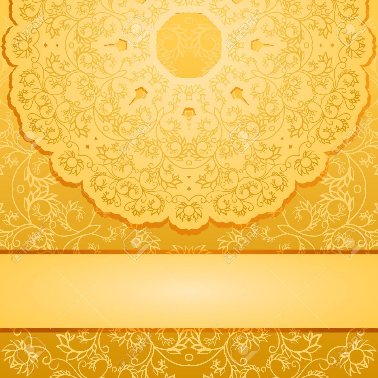 Elegant gold background Illustration sponsored gold 1300x1300