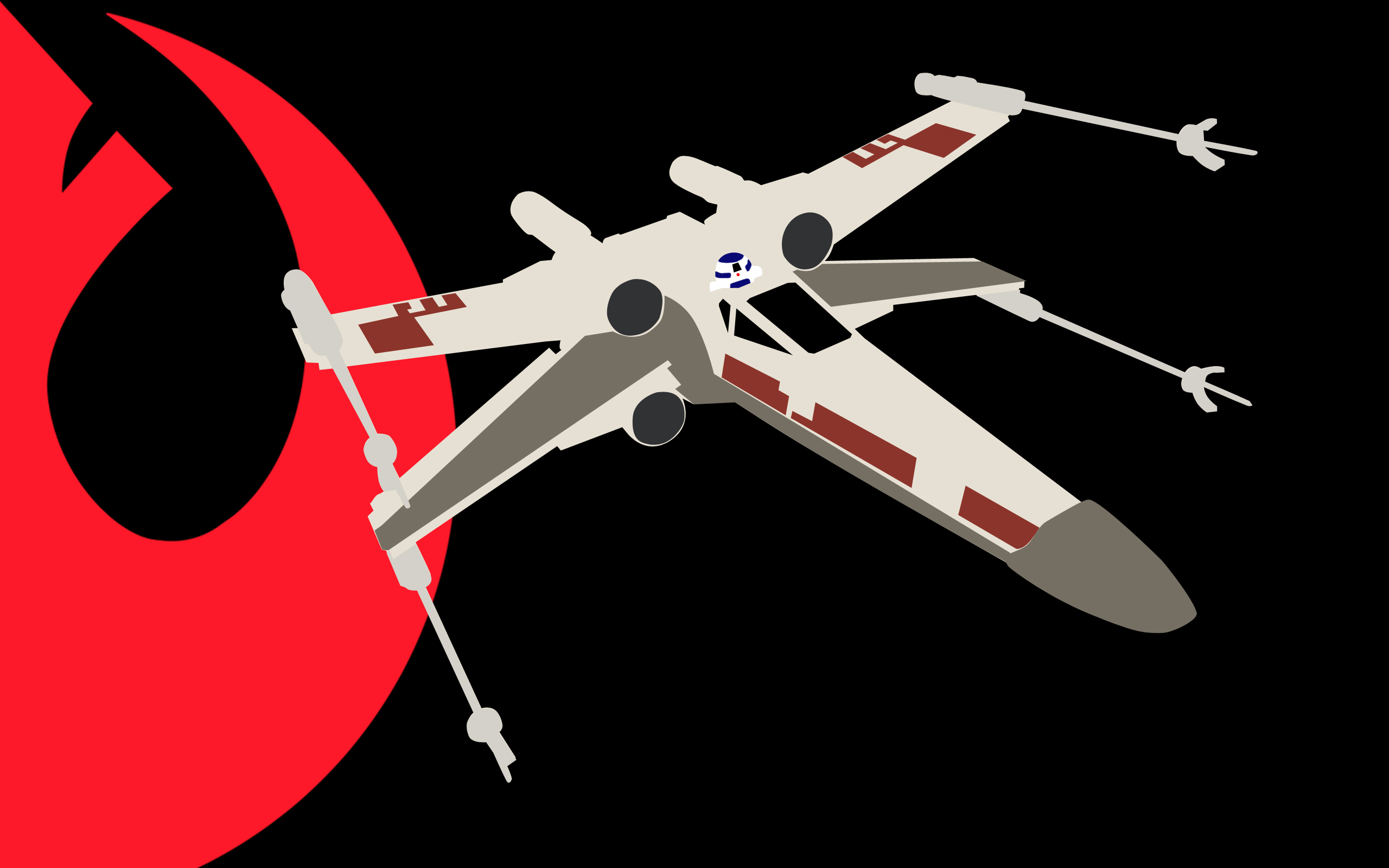 Alliance X Wing Wallpaper by MPCoyote 2560x1600