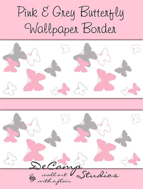 children s wallpaper borders girls wallpapersafari