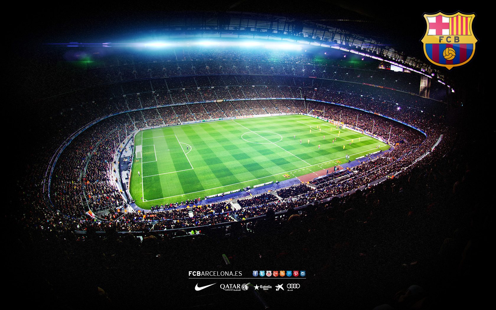 Fcb wallpaper 14 wallpapersafari - Camp nou 4k wallpaper ...