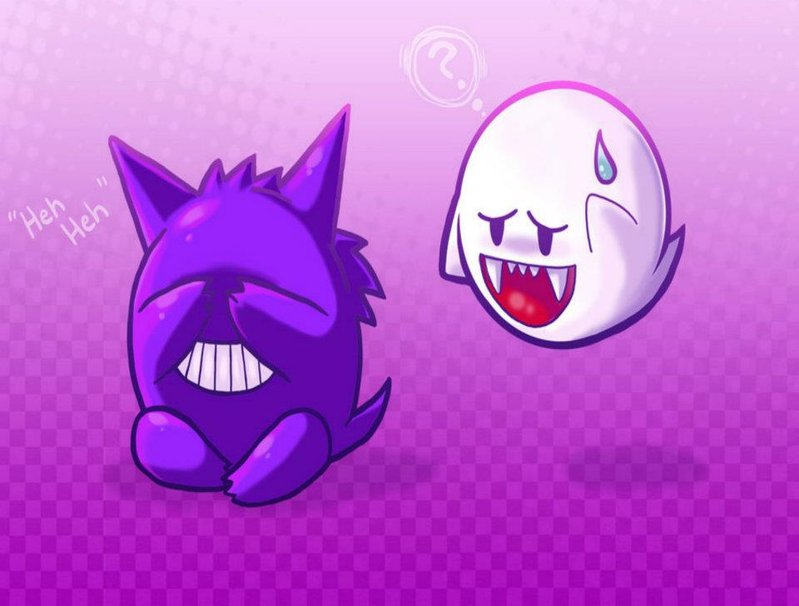 gengar bang voor boo wallpaper 799x606