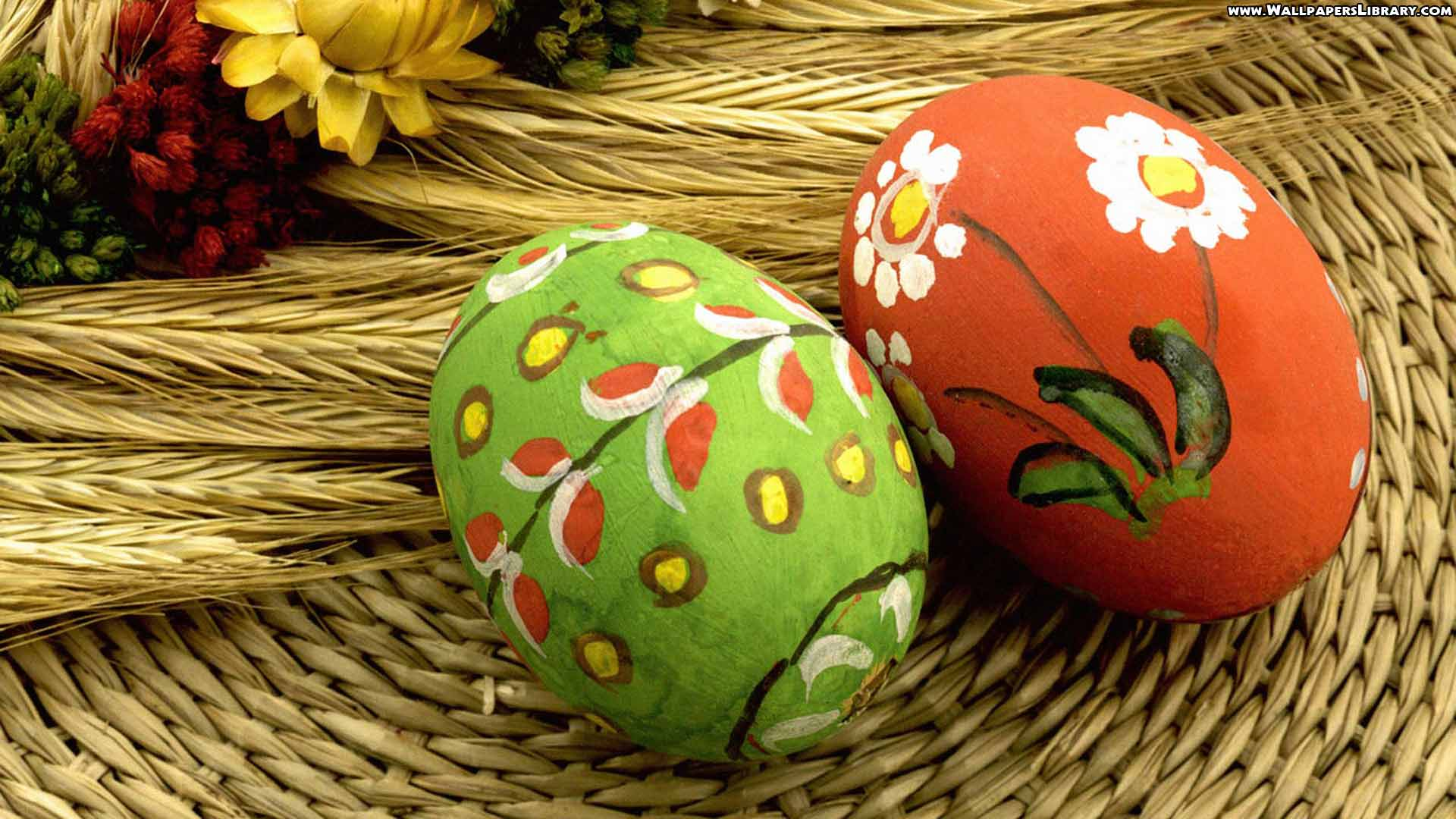 Easter Eggs Holiday Wallpapers Download HD Wallpapers 1920x1080