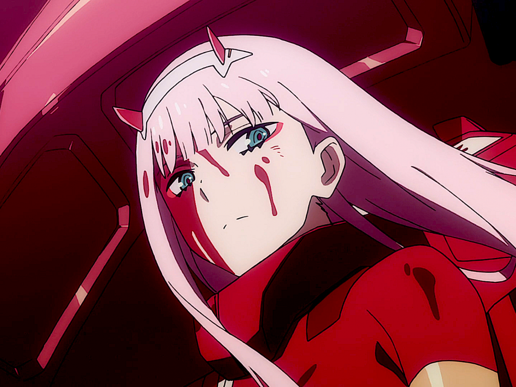 44 Zero Two Wallpaper On Wallpapersafari