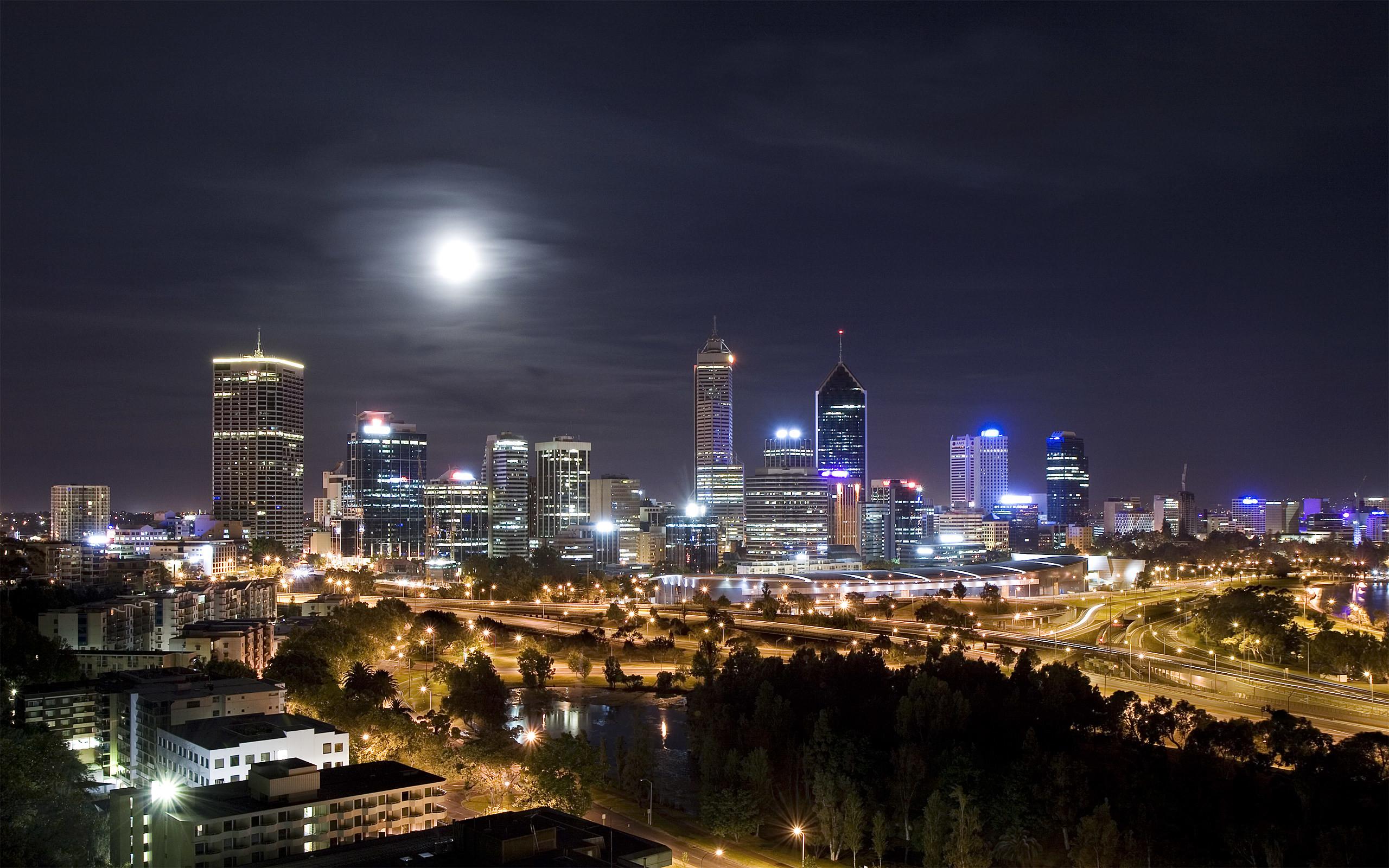 Amazing City Night Wallpaper 2560x1600 2560x1600