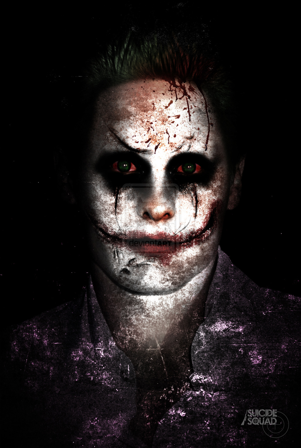Free Download Jared Leto As The Joker By Myrmorko 1024x1520 For