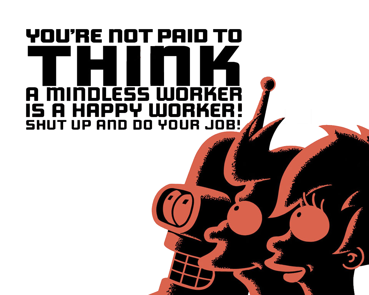 Futurama Bender Wallpaper 1280x1024 Futurama Bender Fry Turanga 1280x1024