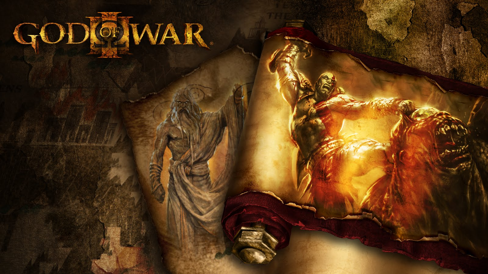 Wallpapers de God of War 3 HD DragonXoft 1600x900
