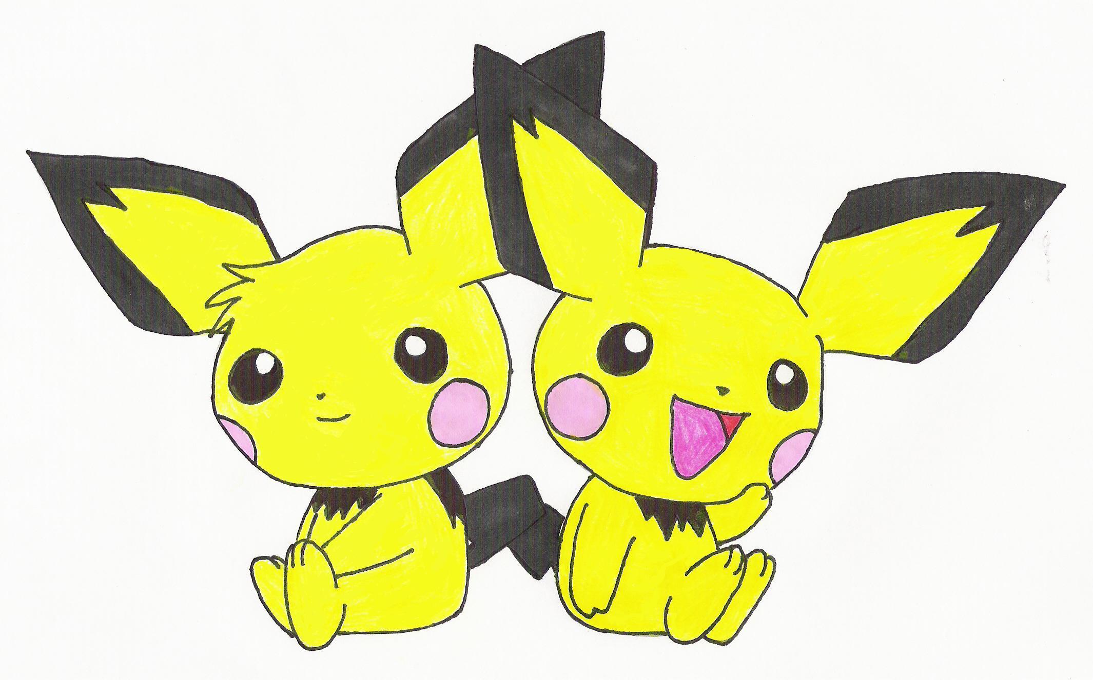 pichu HD Wallpaper   Anime Manga 315375 2130x1326