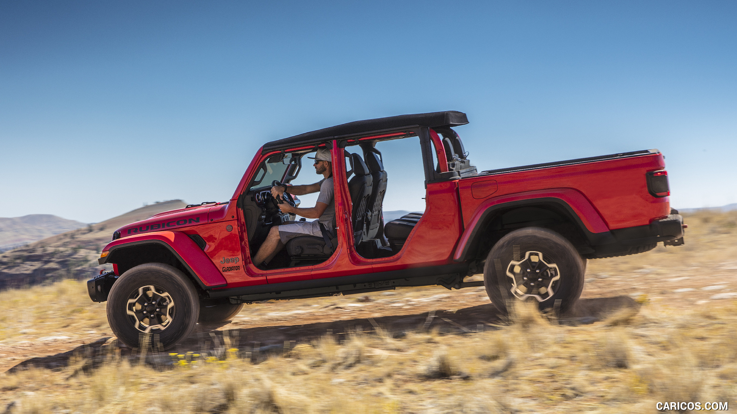 2020 Jeep Gladiator Rubicon   Side HD Wallpaper 91 2560x1440