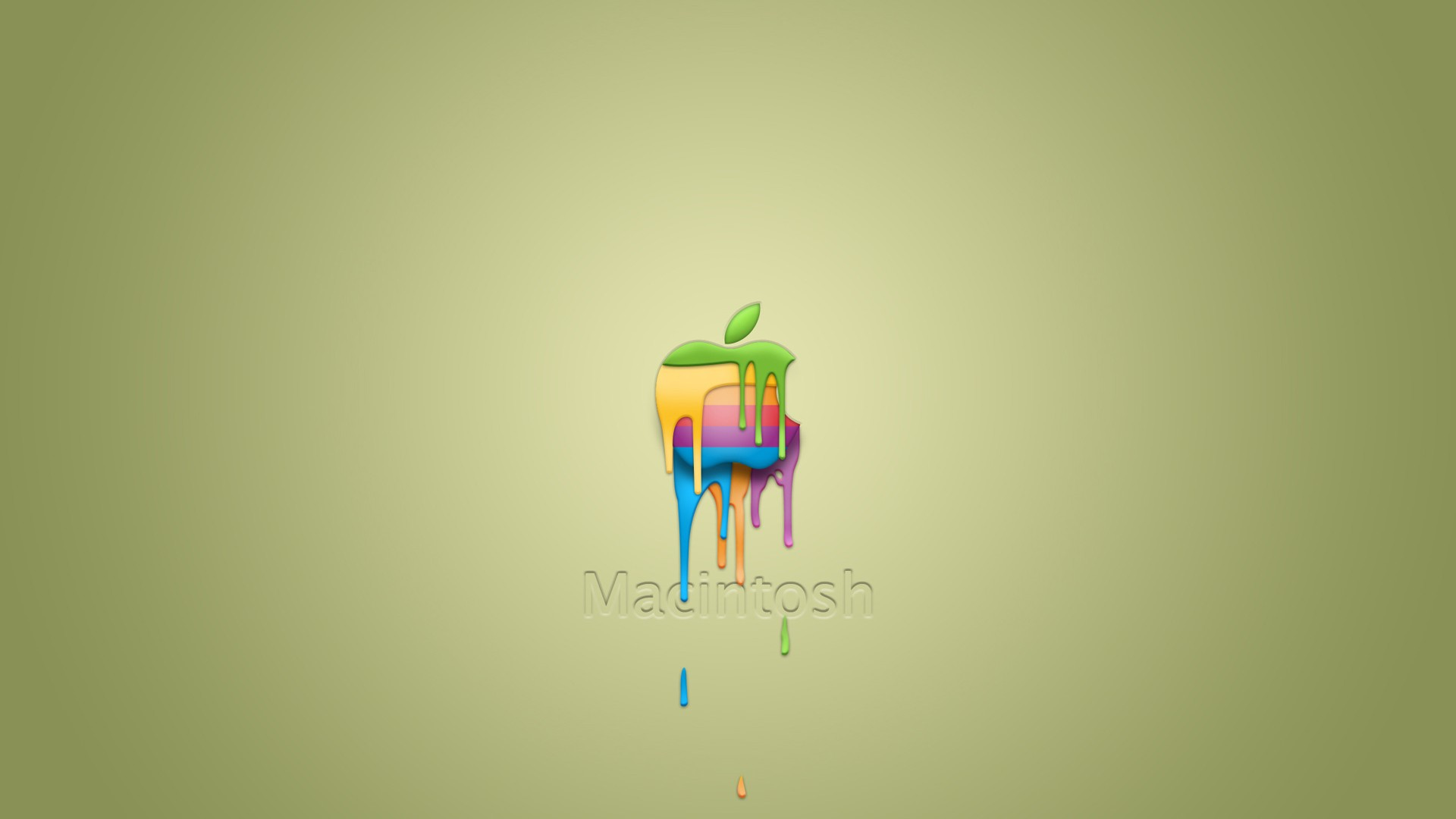 hd wallpaperscomdownloadmacintosh dropping paint 1920x1080 195 hd 1920x1080