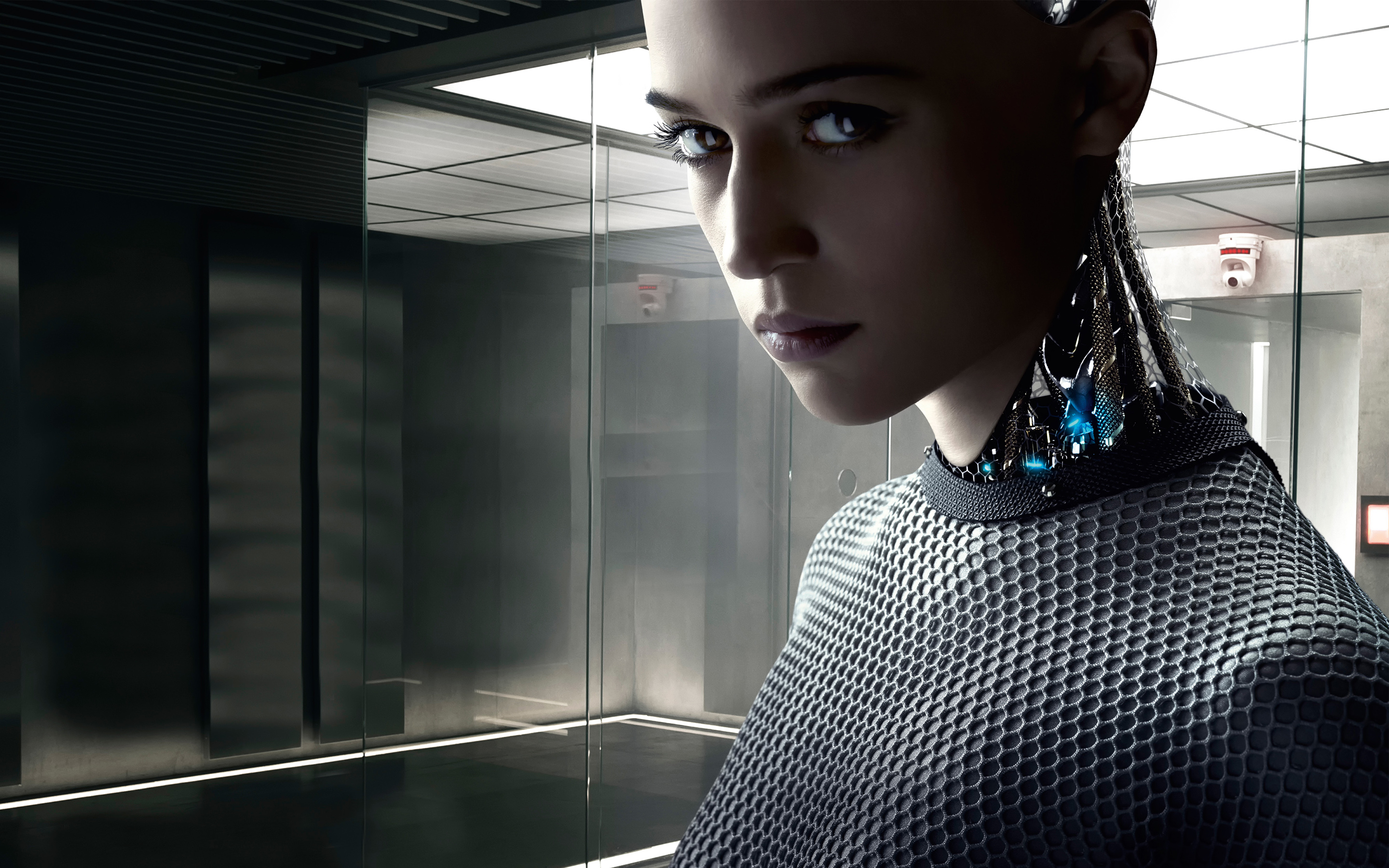 Ex Machina 2015 Movie Wallpapers HD Wallpapers 2880x1800