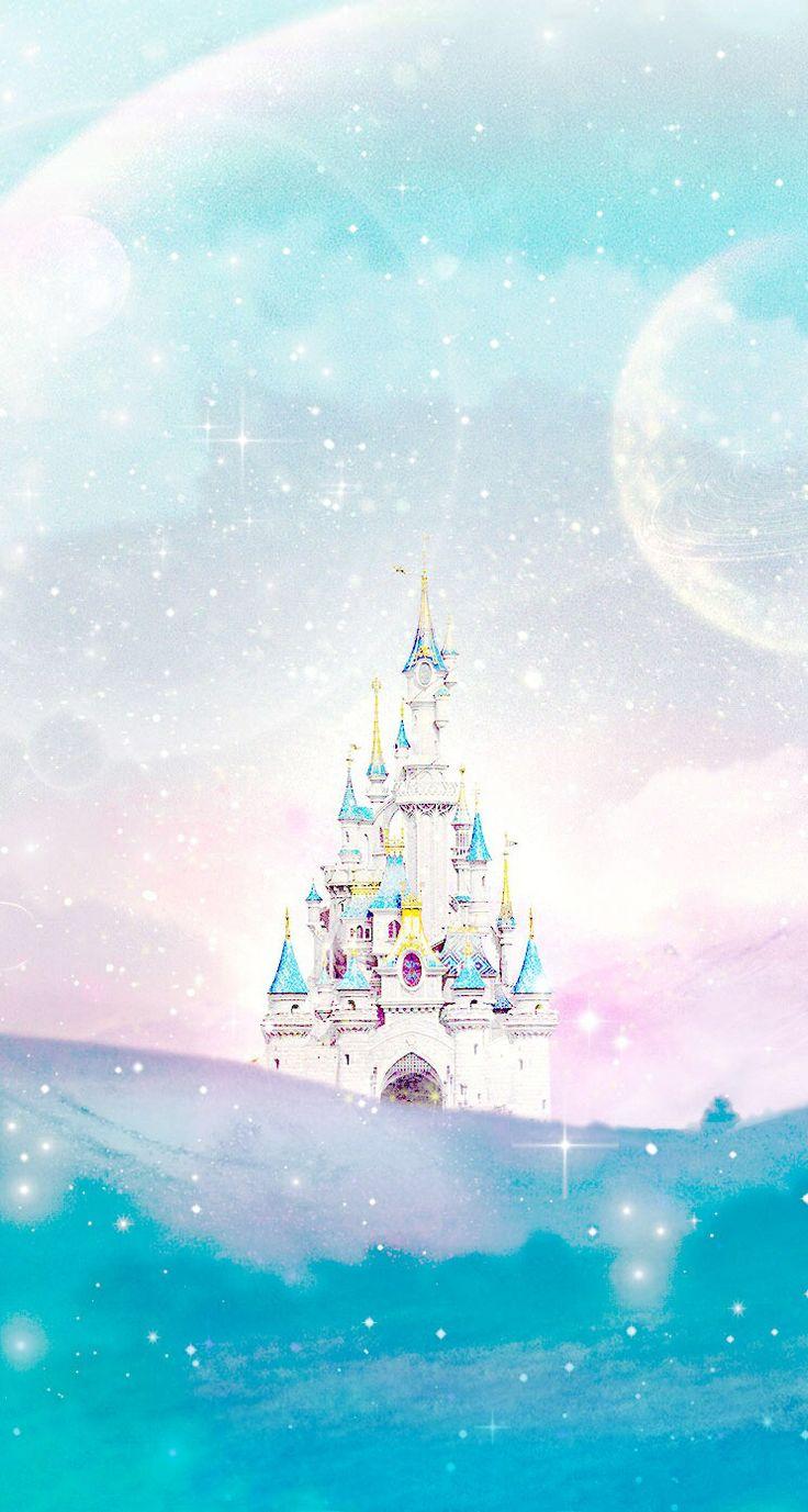 Disney castle Line iphone wallpaper Wish I Was in Disneyland 736x1377
