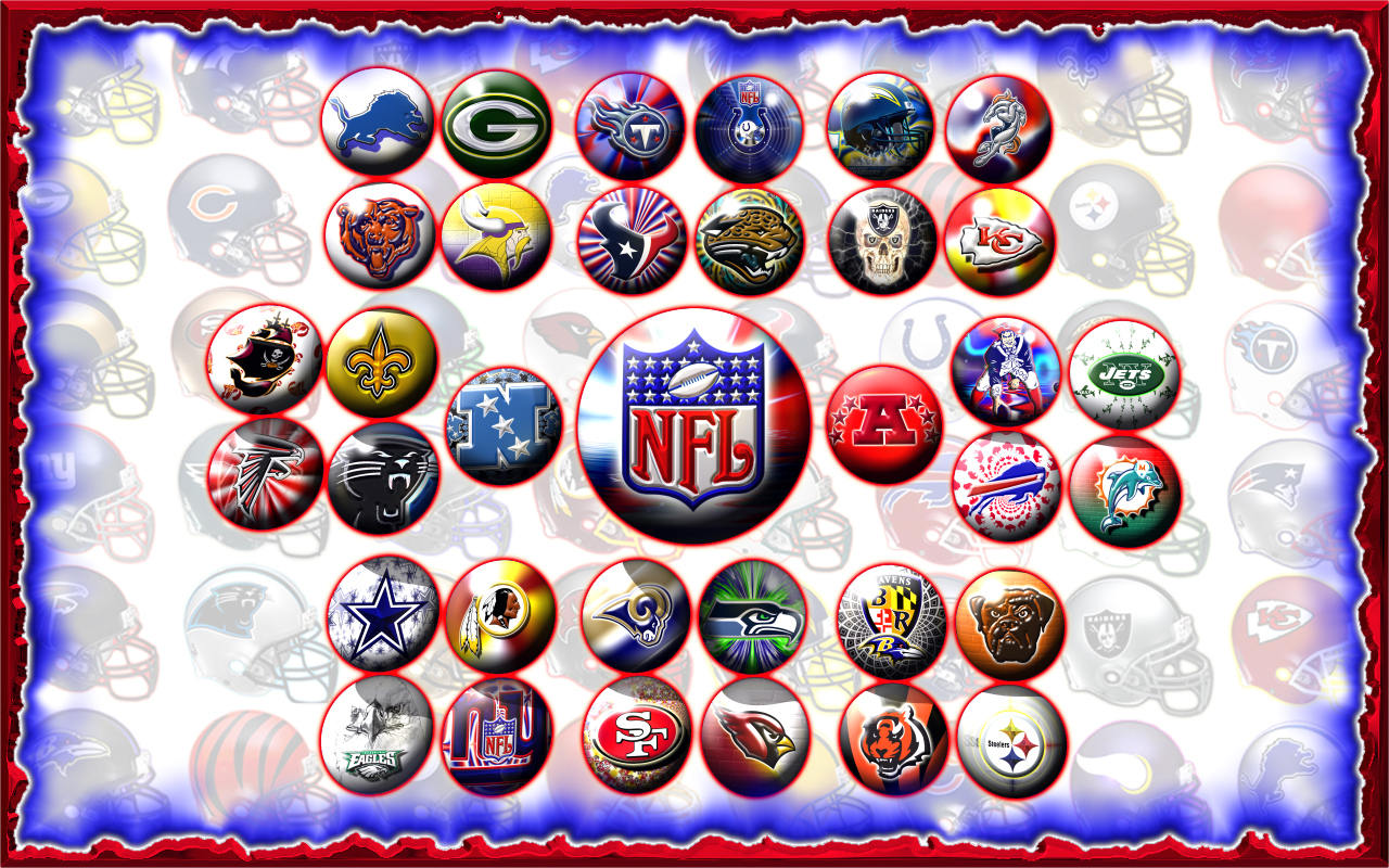 all nfl team logo wallpapers wallpapersafari