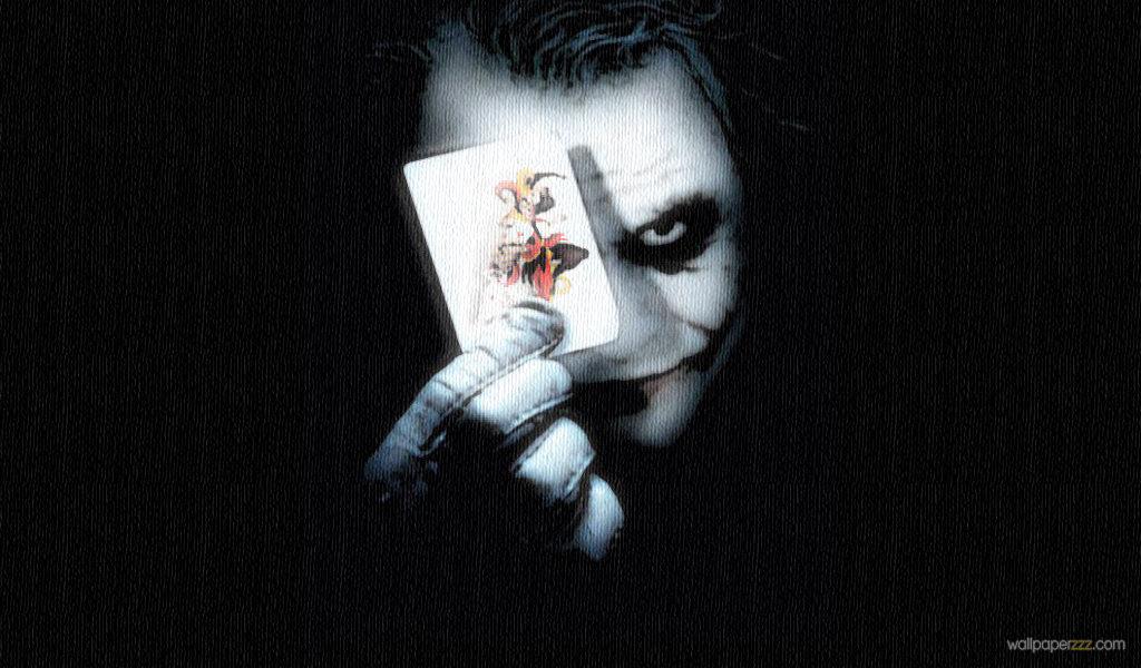 Download Joker And A Joker Widescreen Wallpaper Wallpaper 1024x600