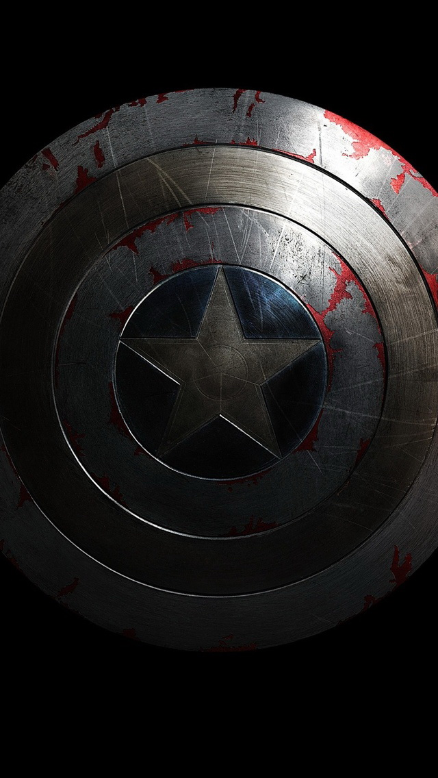 Captain America The Winter Soldier Wallpaper   iPhone Wallpapers 640x1136