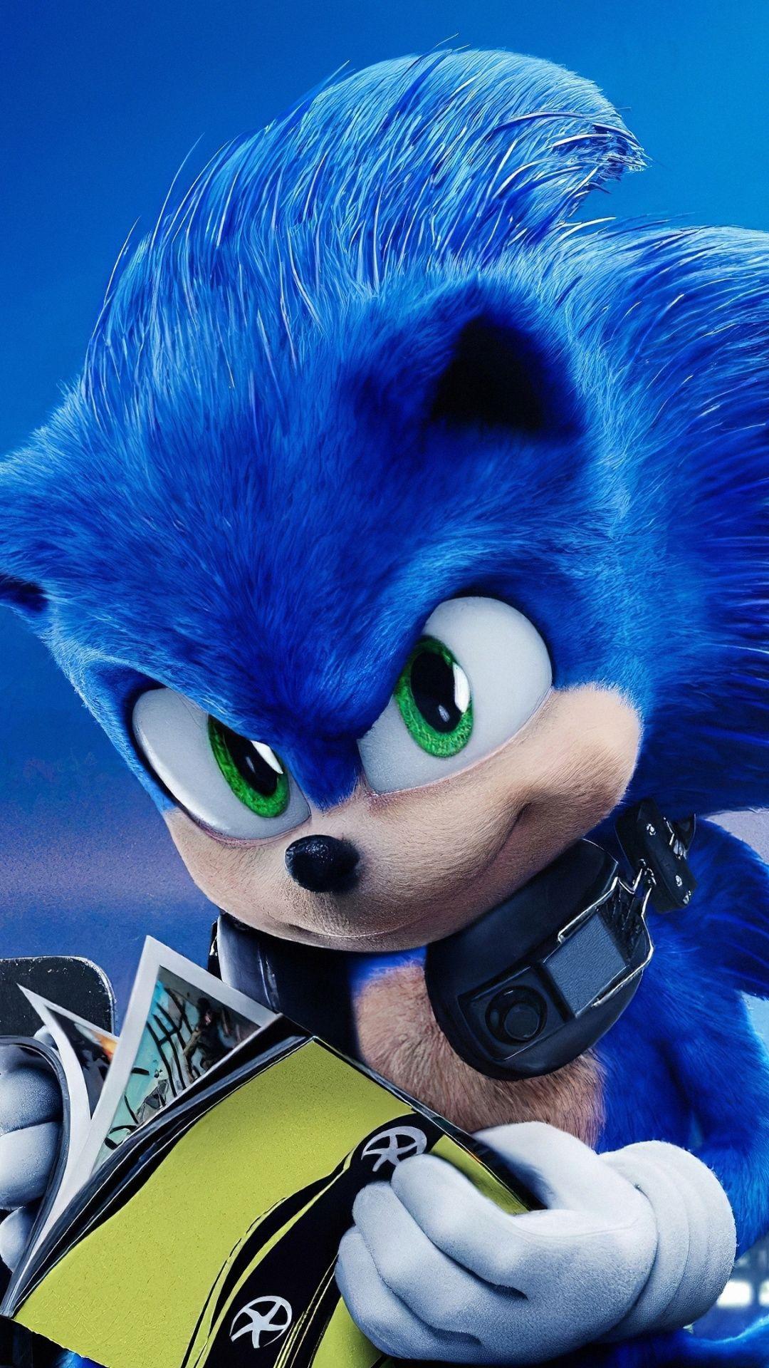 1080x1920 Sonic The Hedgehog 2020 movie wallpaper Movie 1080x1920