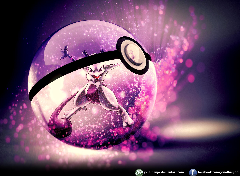 Pokemon Wallpaper Mewtwo And Mew 2621x1917