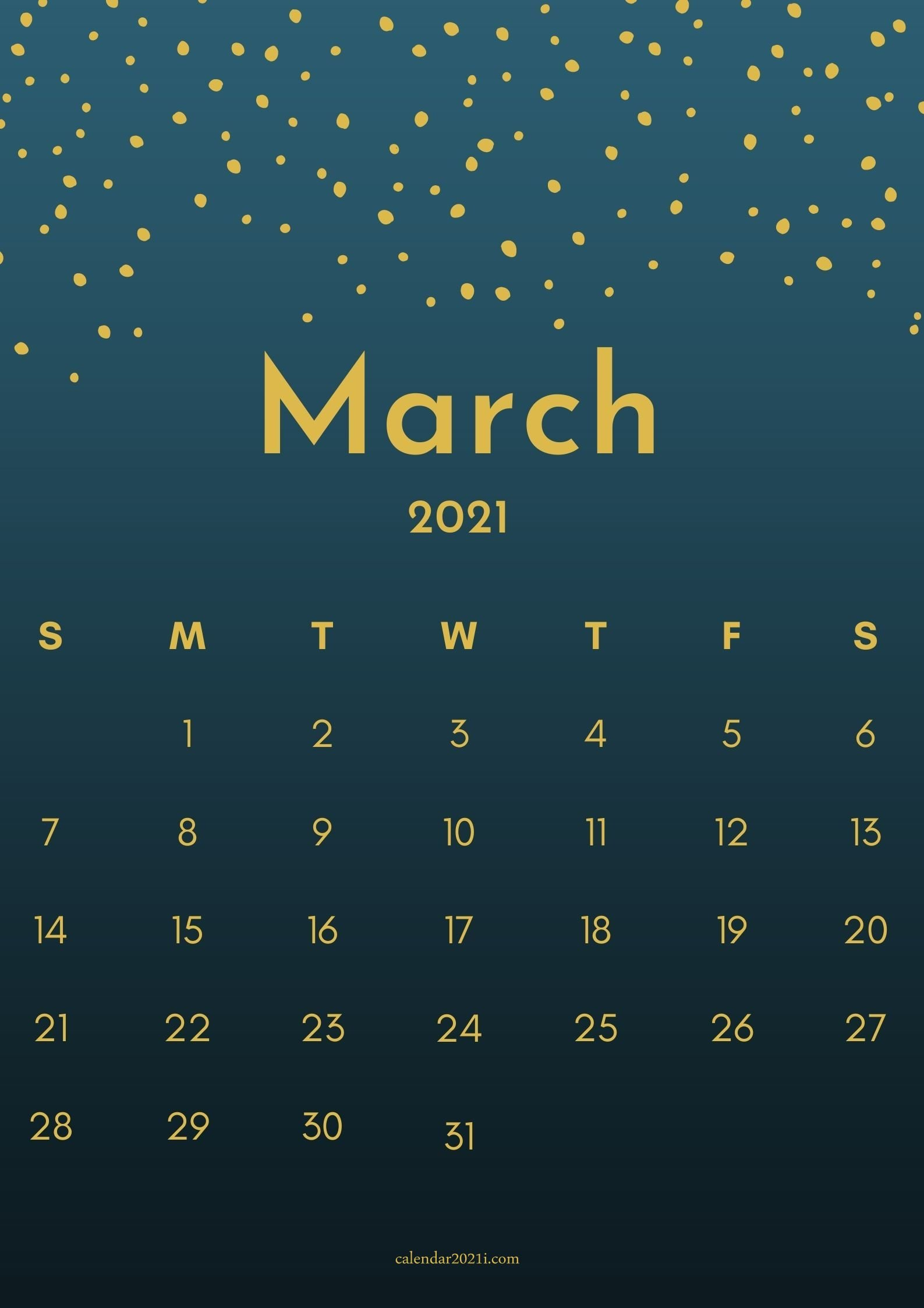 iPhone March 2021 Calendar Wallpapers Download Calendar 2021