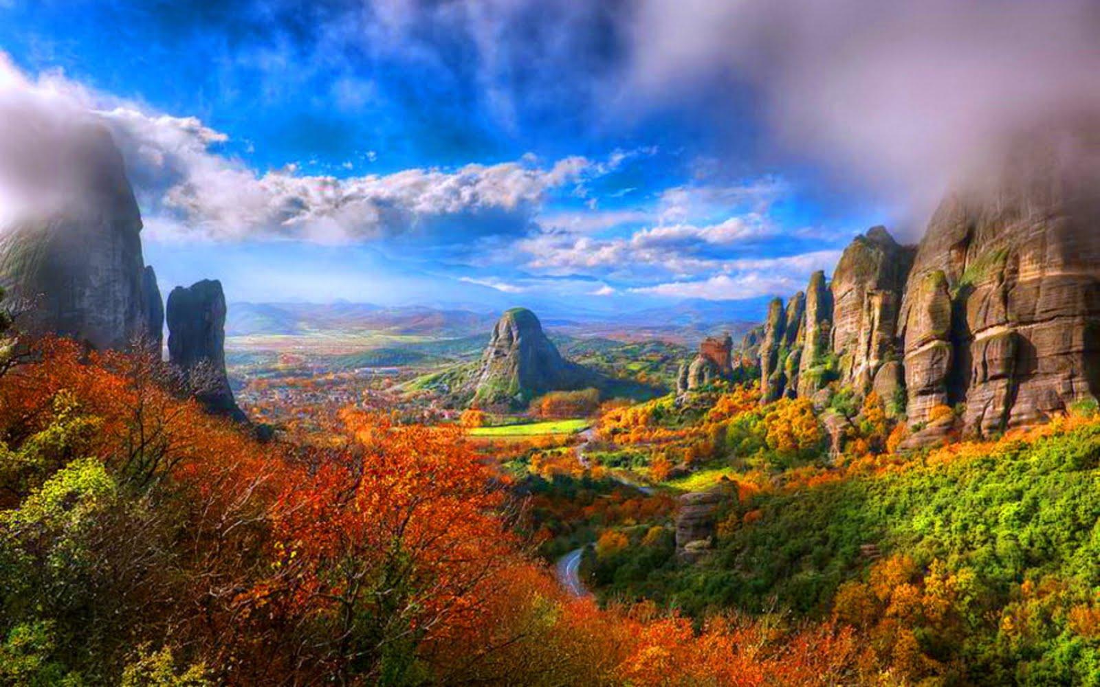 Autumn Colors Hd Desktop Wallpaper 1600x1000