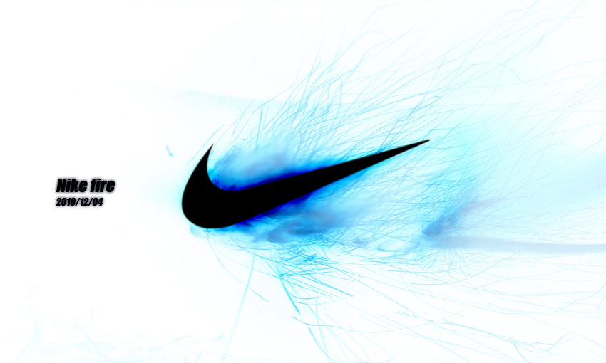 Blue Nike Symbol More like nike logo by 850x510