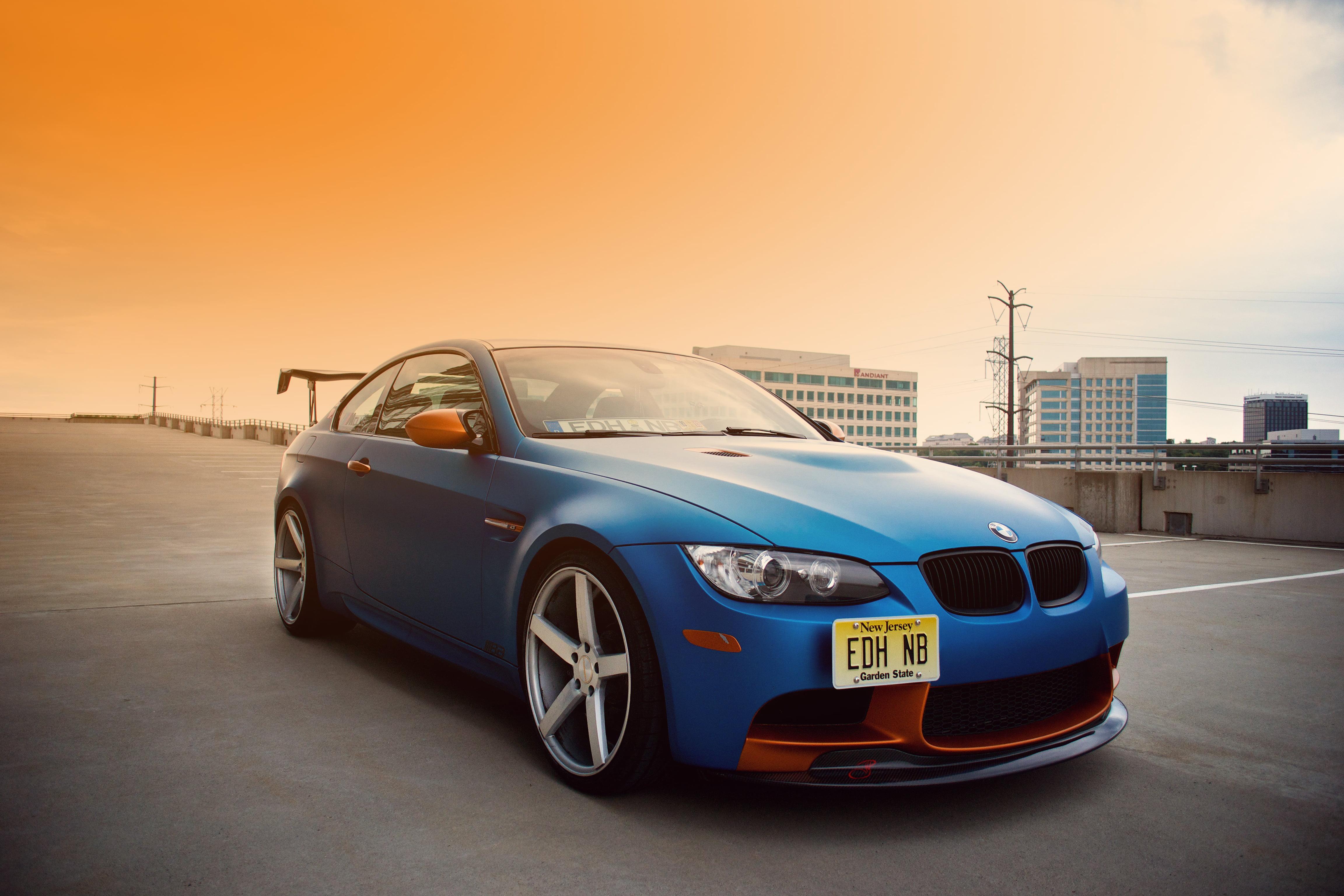 Blue BMW 1M HD wallpaper Wallpaper Flare 4608x3072