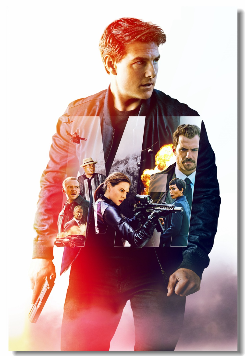 Custom Canvas Wall Decoration Art Mission Impossible Poster 1000x1449