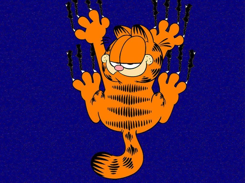 Wallpaper background wallpaper Garfield 1024x768