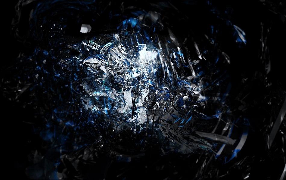 Blue Abstract HD Wallpaper 1080p PiCsHoliC 950x600