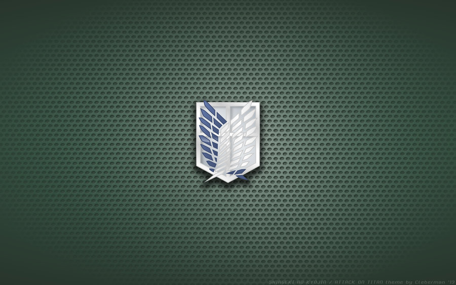 Wallpaper   SnK Scouting Legion Cloak Logo by Kalangozilla on 900x563