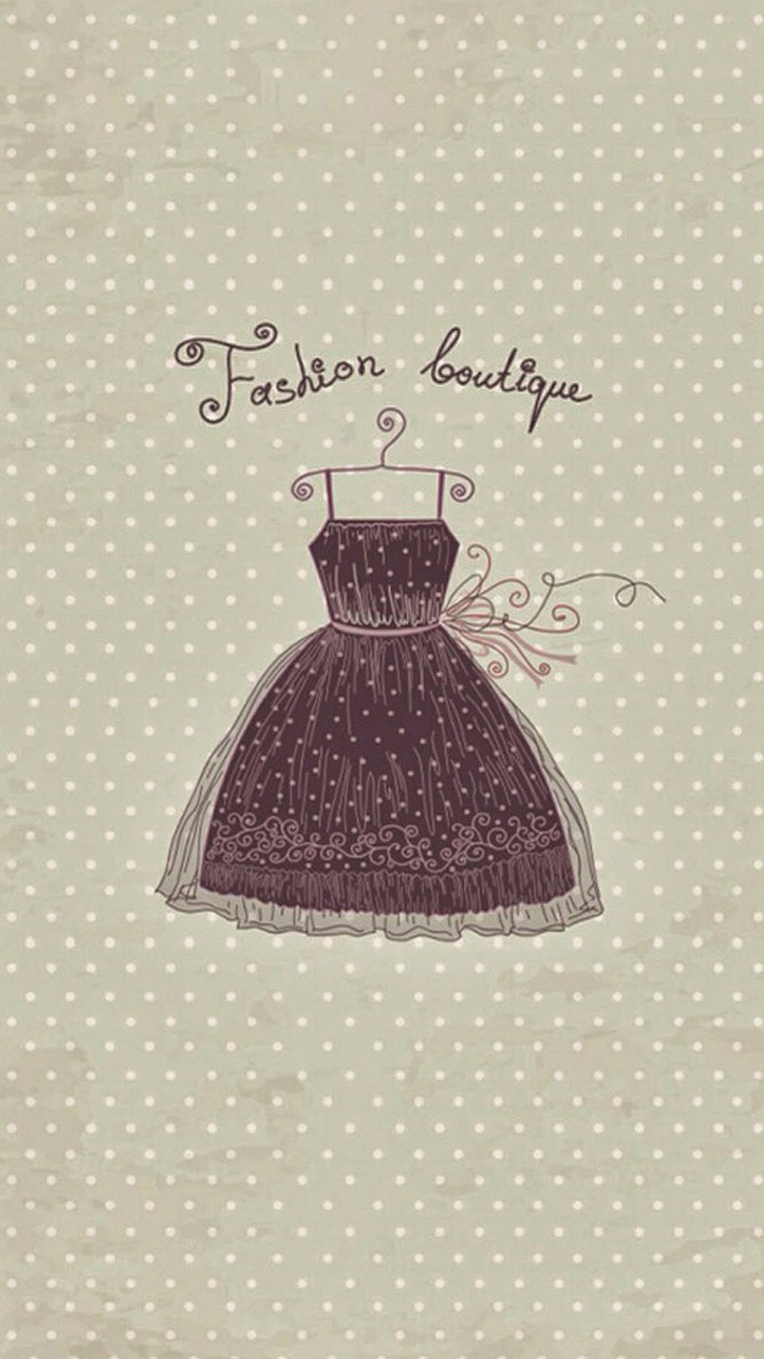 Boutique Vintage Dress iPhone 6 Wallpaper Download iPhone Wallpapers 1080x1920
