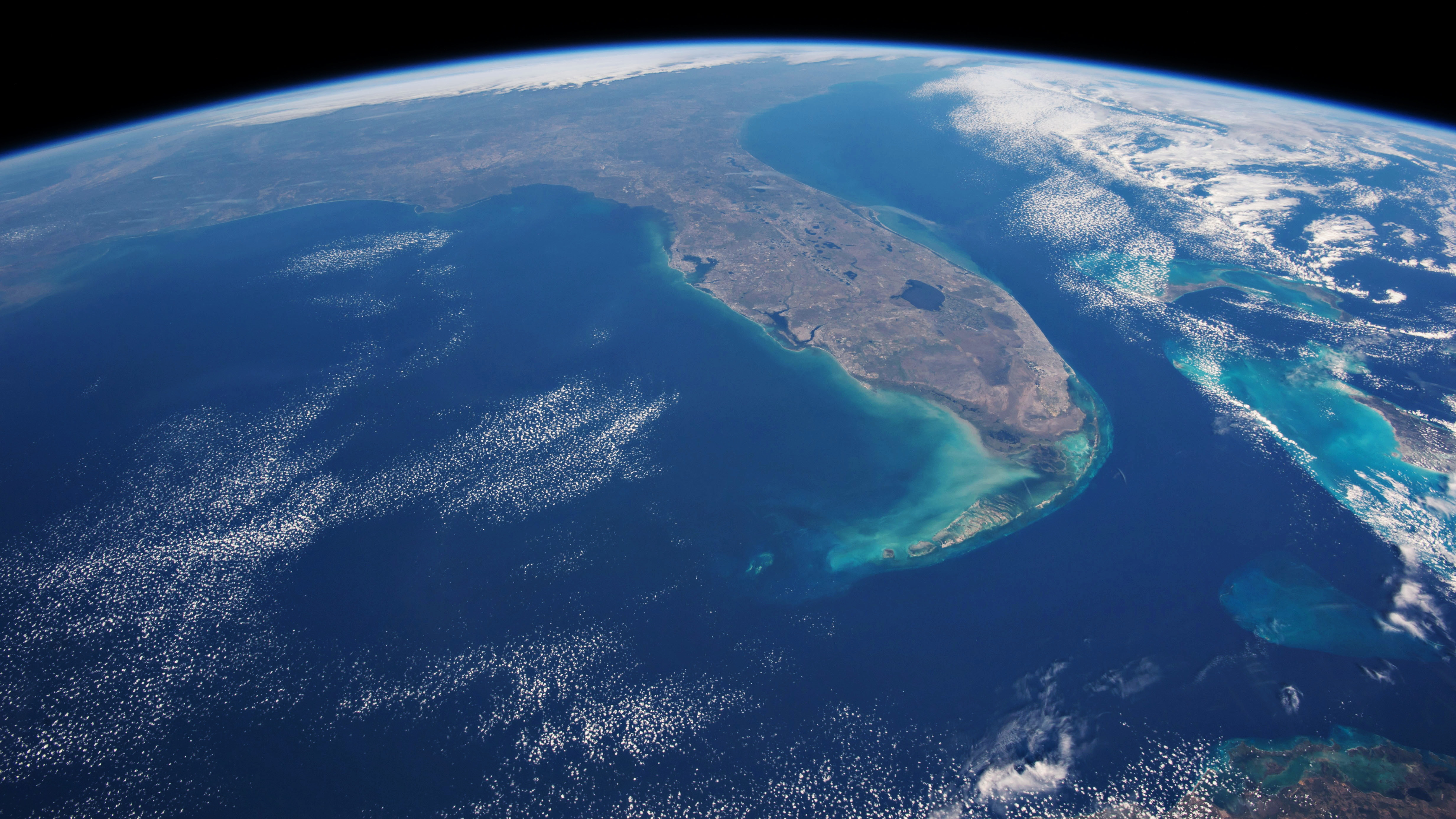 Florida from Space HD Wallpaper Wide Screen Wallpaper 1080p2K4K 4928x2772