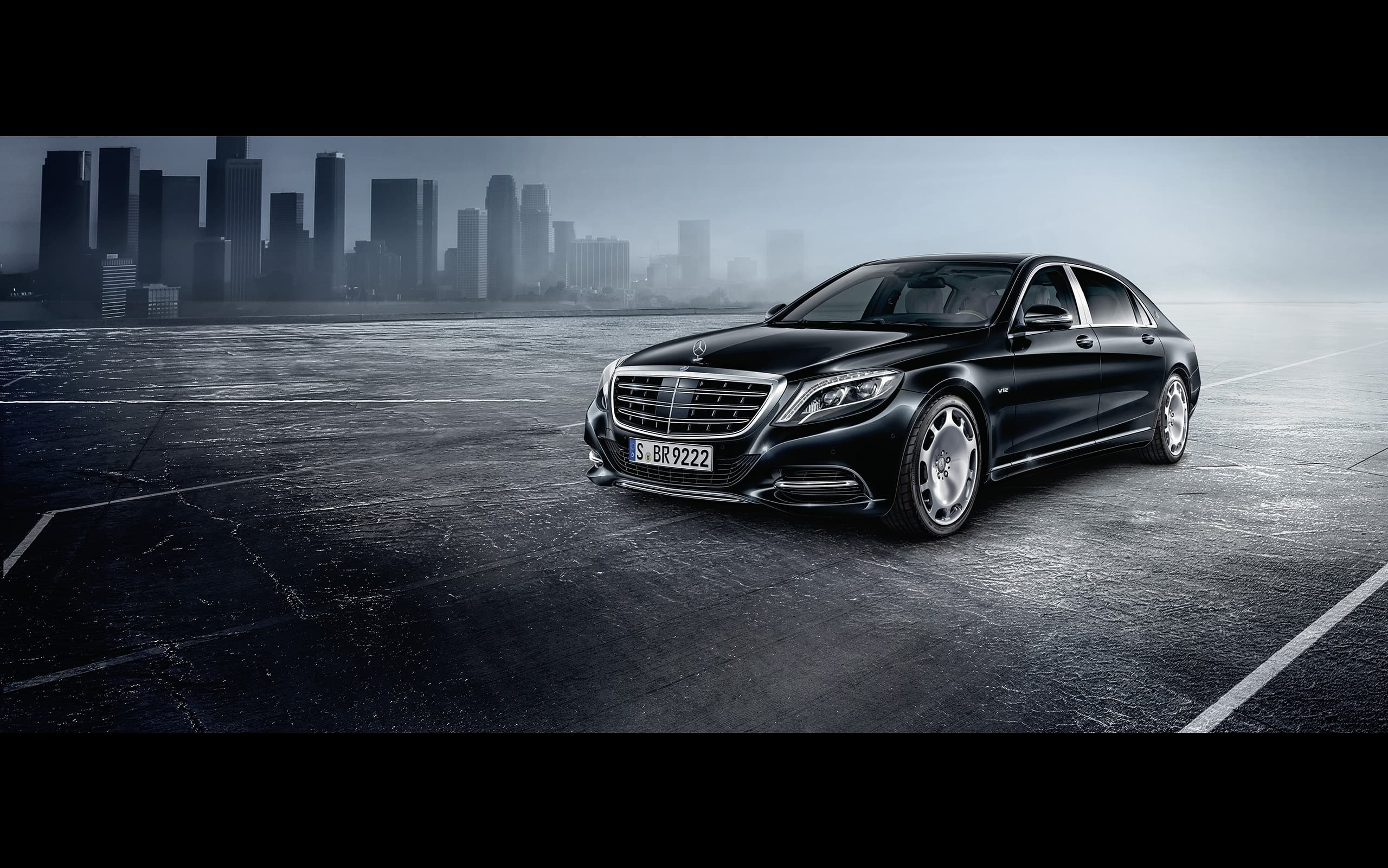 2016 Mercedes Maybach S600 Guard Wallpapers Photos High 2560x1600