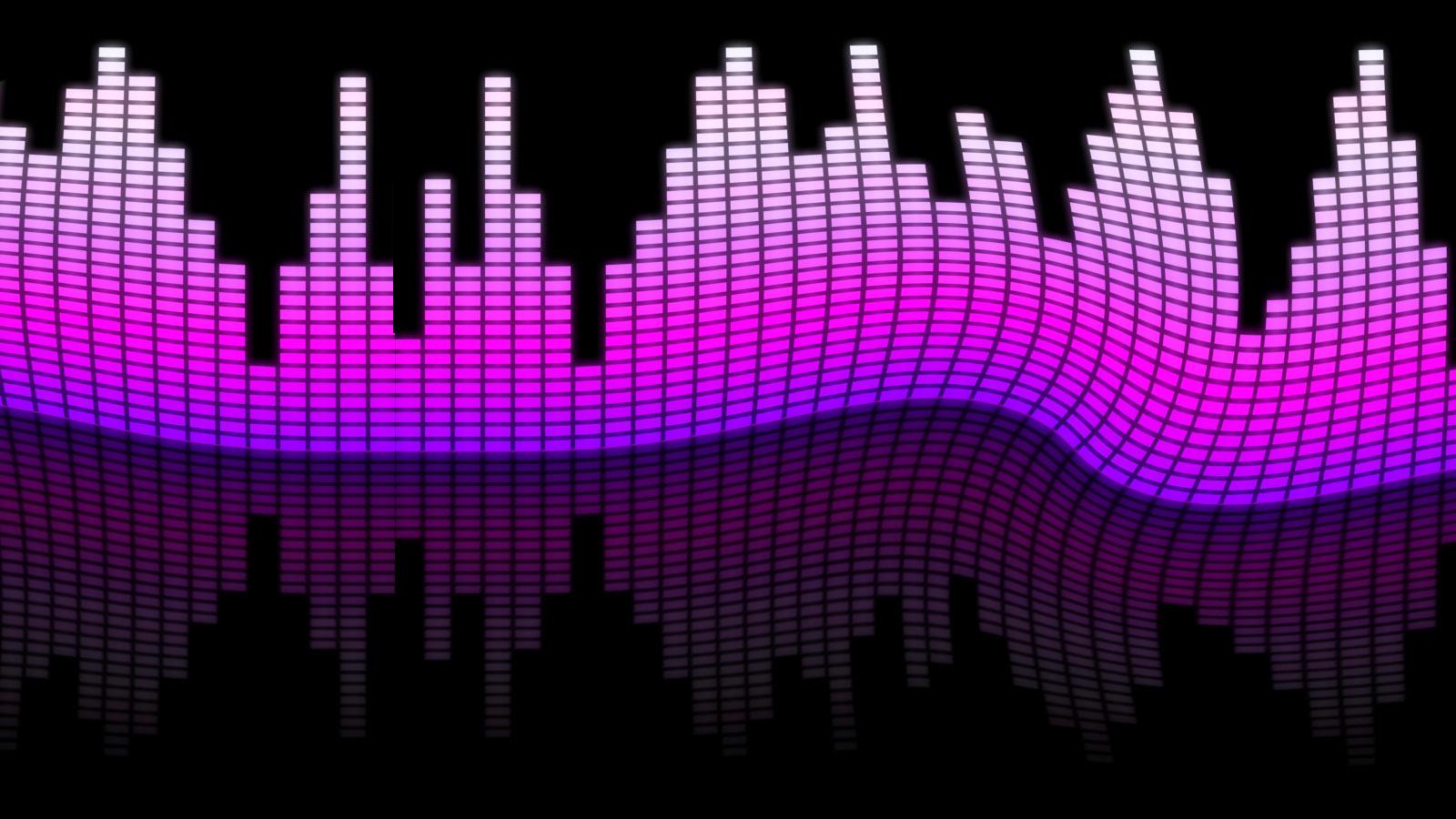Audio Waves Wallpaper Sound waves twitter 1600x900