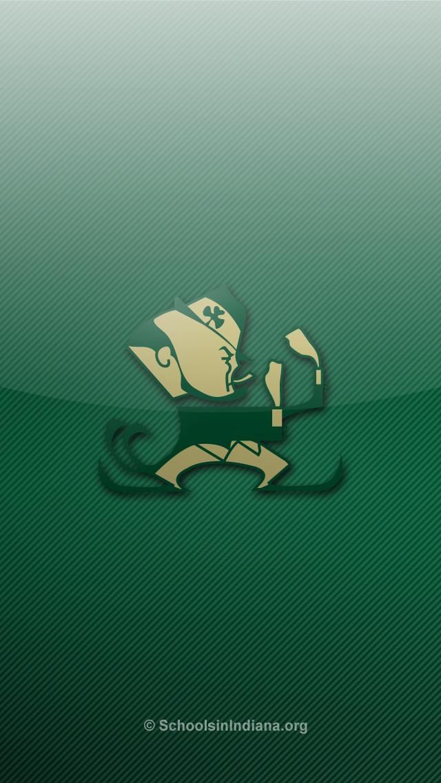 Notre Dame Fighting Irish Iphone 5 Wallpapers Schools In Indiana 640x1136