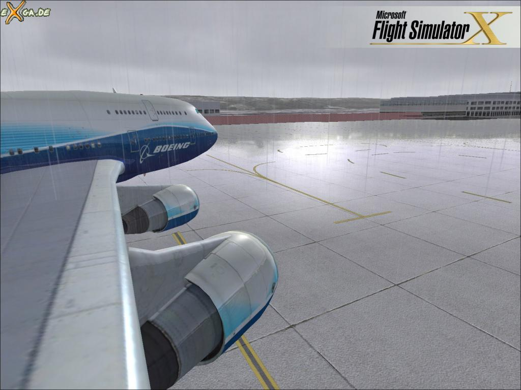 fs04 Screenshot Wallpaper for Microsoft Flight Simulator X   eXgaus 1024x768