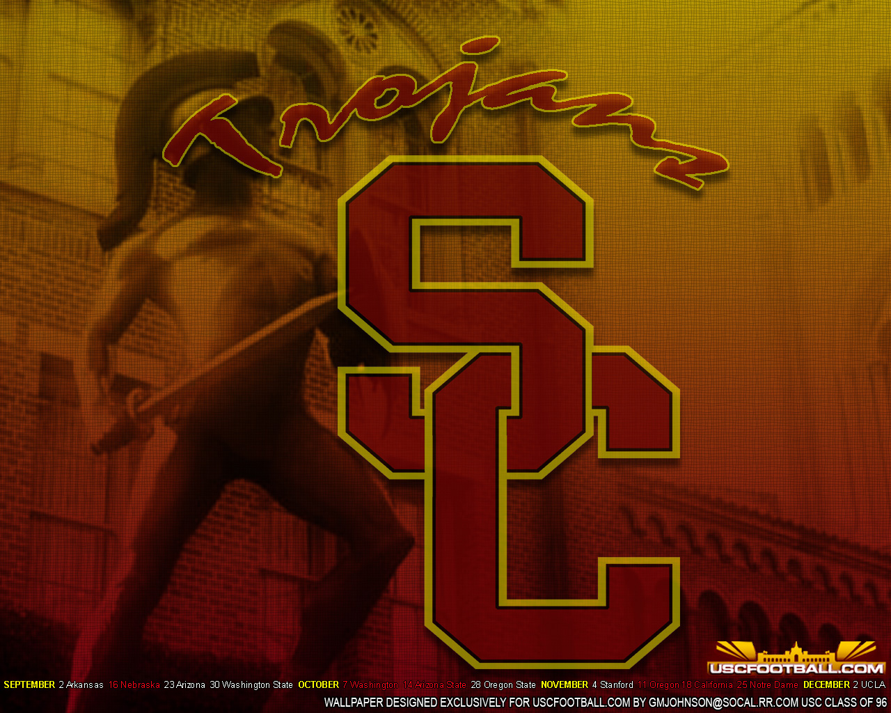 USC Football Wallpaper 2015 1280x1024