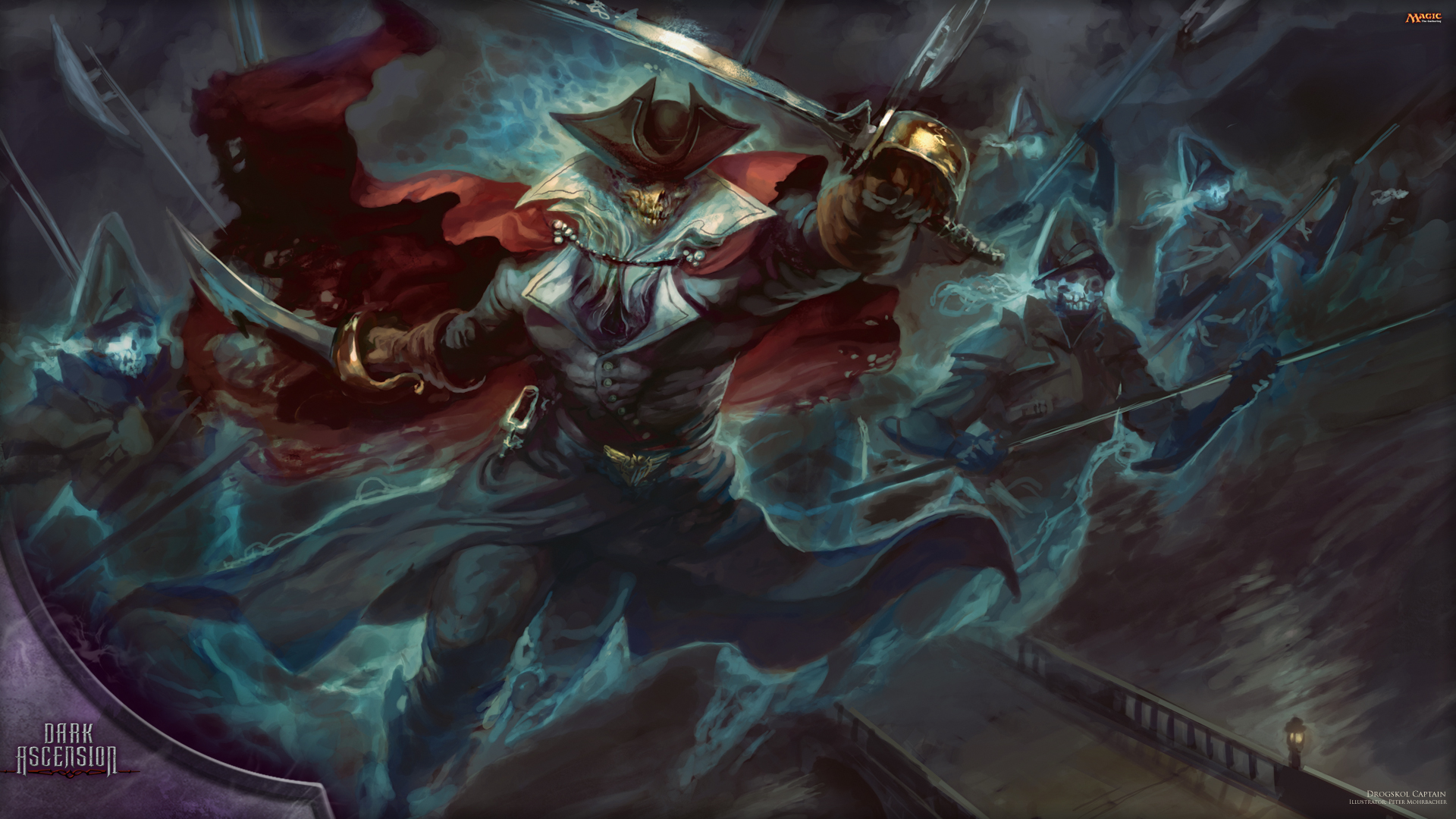 Wallpaper of the Week Drogskol Captain MAGIC THE GATHERING 1920x1080