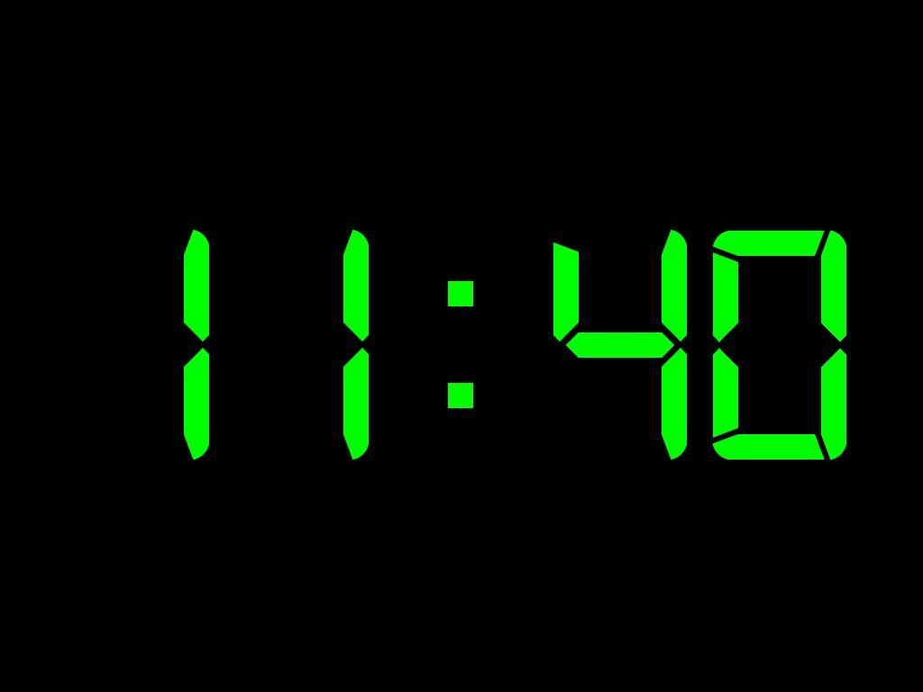 Digital Clock Wallpaper For Desktop Wallpapersafari